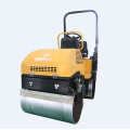 Hot sale vibration double drum compact road roller