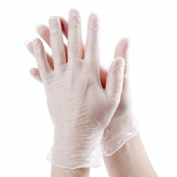 CE ISO FDA certified disposable exam vinyl gloves