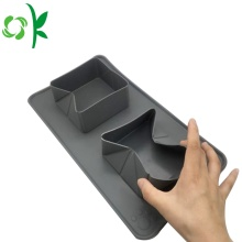 Silicone Folding Double Bowl Travel Portable Pet Bowl