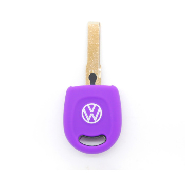 VW 1 button fob silicon car key shell