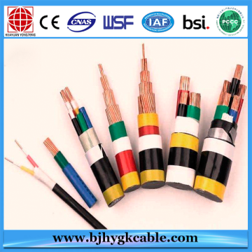 Low Voltage/XLPE Insulated/PVC Sheathed/Armored Cables