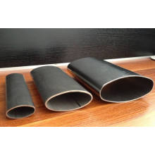 Flat Oval Aluminum Extrusion Profiles Tube