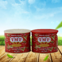 Free sample for Tomato Sauce Packaging Plastic Bag 198g Tomato Paste Canned Tomato Paste export to South Korea Factories