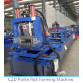 fully automatic C/Z purlin roll forming machine