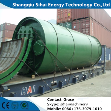 Pyrolysis Plant For Waste Plastic