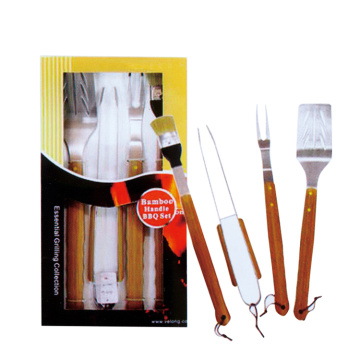 4pcs BBQ set for bbq party