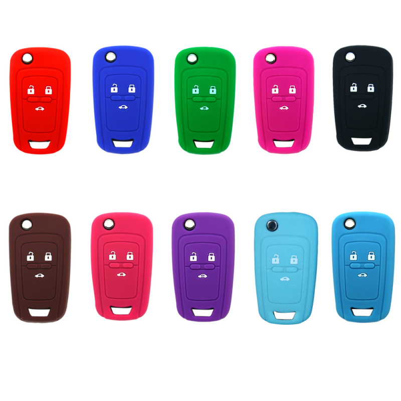 Soft rubber silicone car key covers