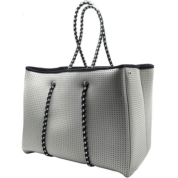 Large Daily Tote Neoprene Beach Mesh Bag