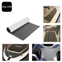 Wholesale Price for Faux Teak Strip Melors EVA Boat Flooring Decking Sheet export to France Factory
