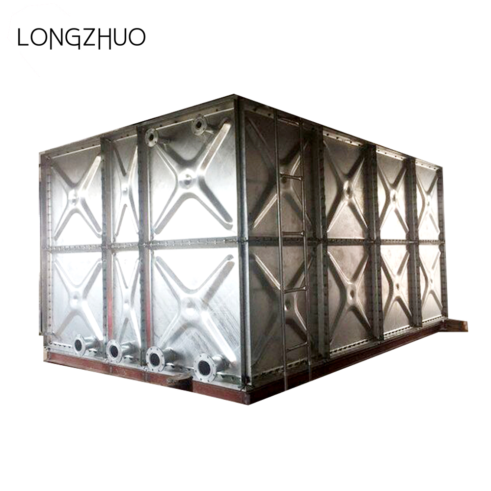 Hot Dipped Galvanized Steel Panels Assembled Water Tank