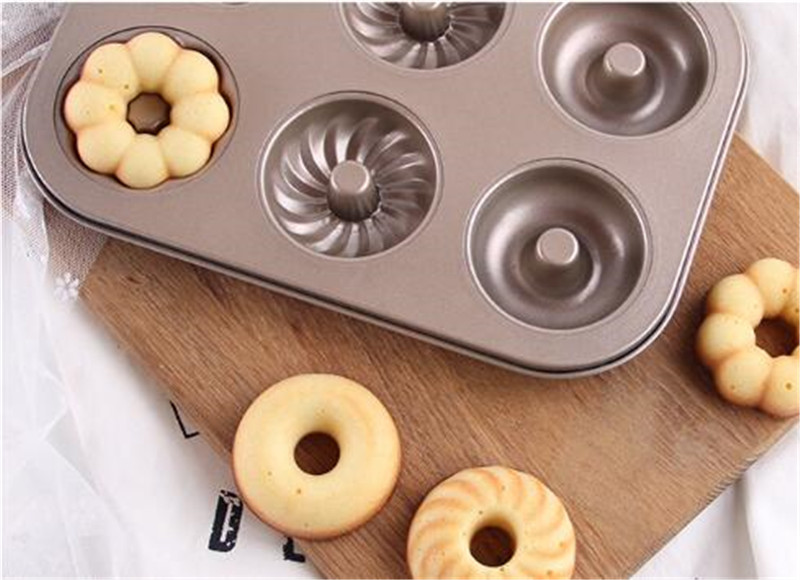 6 cups three shapes doughnut non stick mould (22)