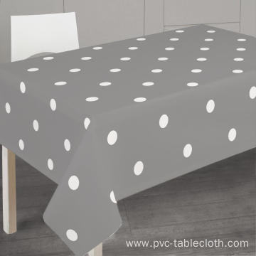 Pvc Printed fitted table covers Disposable