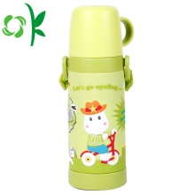 Silicone Custom Cartoon Waterproof Children Bottle Sleeve