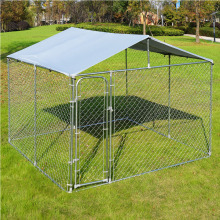 Chain Link Large Dog Cage