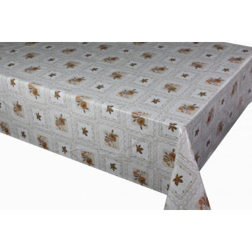 2018 Pvc Printed fitted table covers