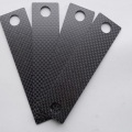 4.5x250x400mm woven license frame carbon fiber sheet