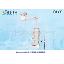 Electric single arm endoscopy medical pendant