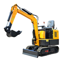 Mesin pertanian 1t 0.8t mini crawler excavator