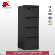 Hot Sale for Vertical File Cabinet Black Metal 4 Drawer File Cabinet export to Tokelau Suppliers