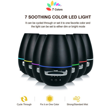 Newest Bluetooth Speaker Ultrasonic Oil Aroma Diffuser Black