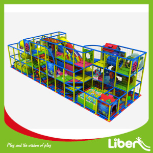 20 Years Factory for Attractive Indoor Playland, Custom Design Indoor Playground Equipment Exporters Kids club mall plaza indoor playground supply to Tunisia Manufacturer