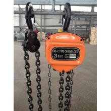 Bottom price for Triangle HSC Type 2 Ton Chain Block HSC triangle chain pulley block 3ton for construction supply to Netherlands Factory