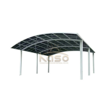Used Metal Parking Tent Shelter Garage TwoCar Carport