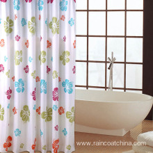 Vinyl Bathroom Printed Shower Curtain