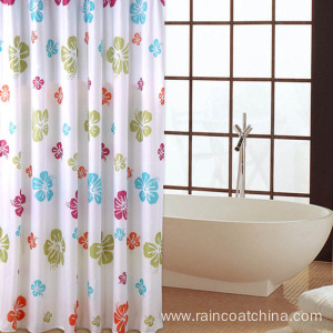 China Gold Supplier for for PVC Tablecloth Vinyl Bathroom Printed Shower Curtain export to Sweden Importers