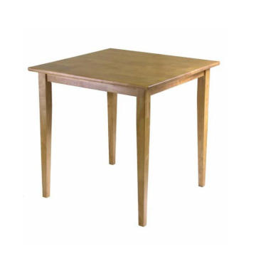 Latest Chinese Square Tea Table With solid legs