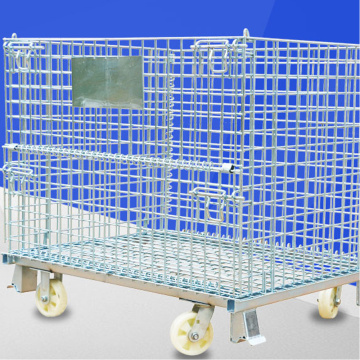 Saving Storage Space Versatile Usage Pallet Cages