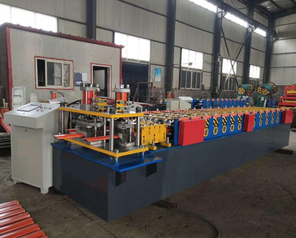 Decorative Steel Fence Panel Roll Forming Machine