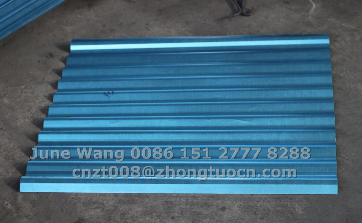 G550 corrugated sheet-