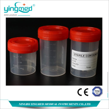 Low Cost for 60Ml Urine Specimen Container Medical Urine sample container export to Guam Manufacturers