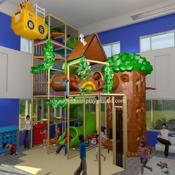 Toddler Forest Themed Indoor Playground For Sale