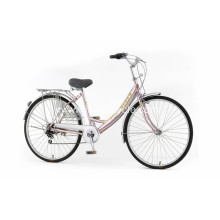 Women Attractive Price City Bike with Basket