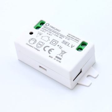 3-6W Driver de LED de 9 Volt DC Mini