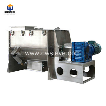 Stainless horizontal powder ribbon mixer