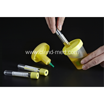 PP Material Disposable Sterile Urine Container With Needle
