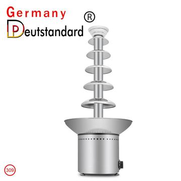 commercial chocolate fountain machine with CE