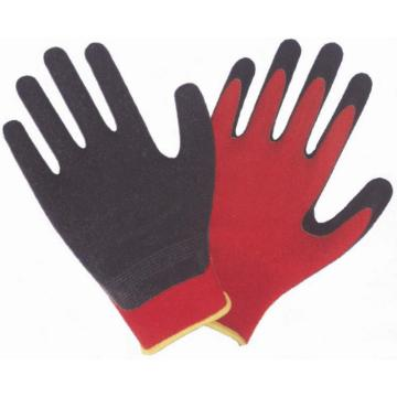 Cotton Safety Gloves With Latex coated