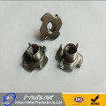 4 prongs stainless T Nuts