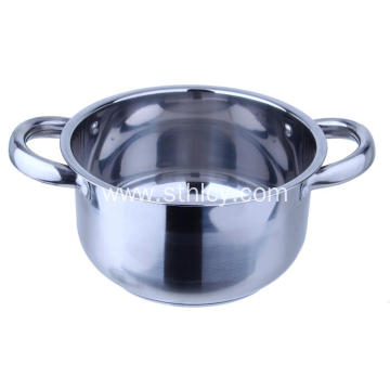 Stainless Steel Kitchen Cookware 4-Pot Sets