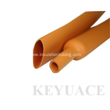 Good Quality for Thin Wall Heat Shrink Tubing Oil Resistant Orange PE Heat Shrink Tube supply to Spain Factory