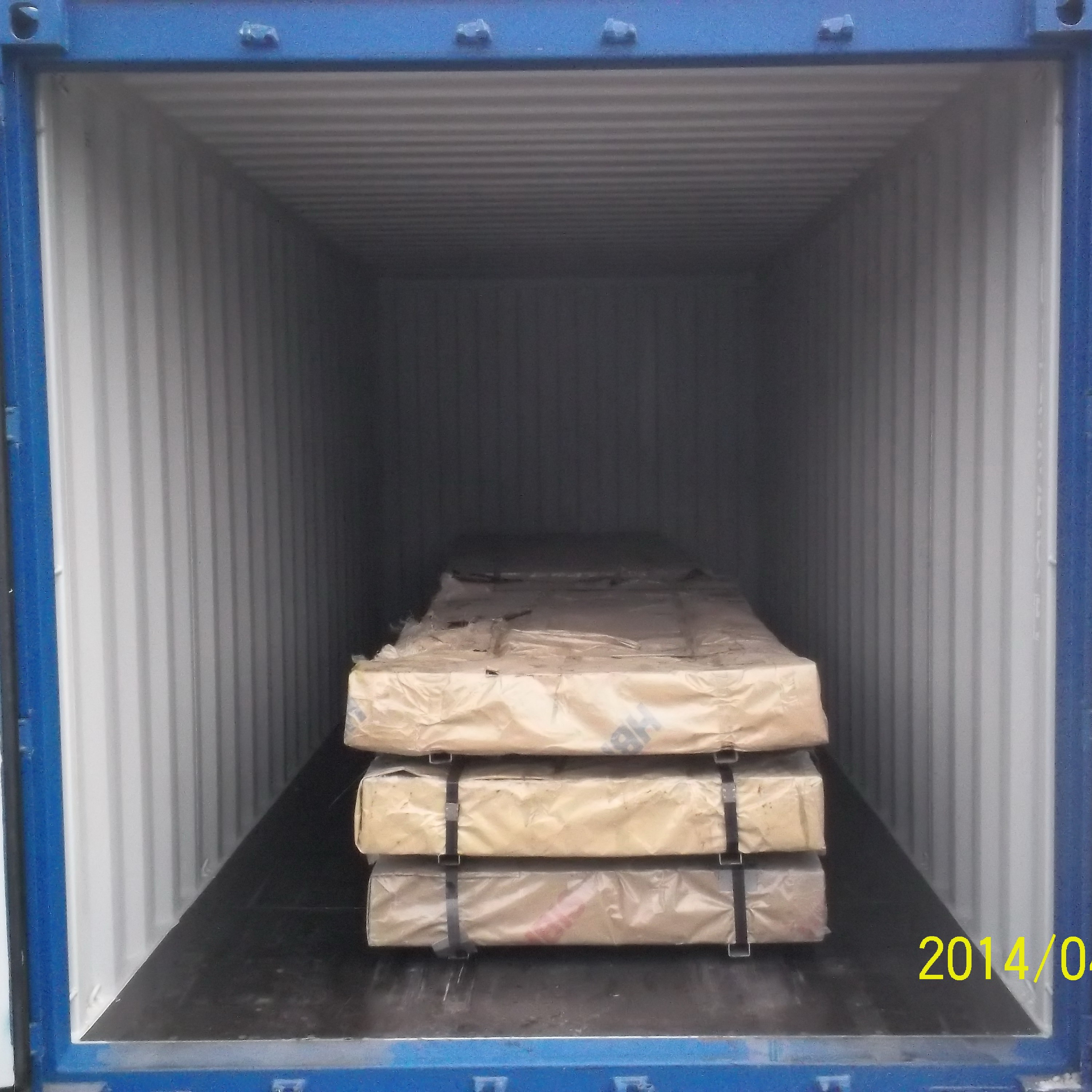 Cold rolled sheet in steel sheets on loading (9)