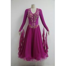 Bottom price for Ballroom Gowns Canada Rose Pink Ballroom dresses online supply to Macedonia Supplier