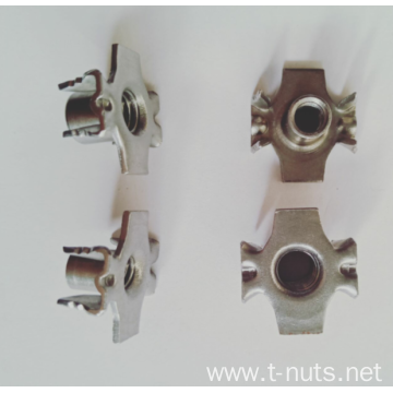 Stainless steel alien 4 Prongs T-Nuts