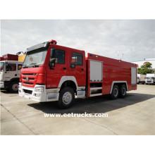HOWO 10 Wheeler Fire Fighting Vehicles
