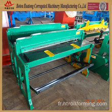 Foot operate sheet cutting machine