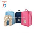 Portable Waterproof Travel Shoes Storage Tote Bag 3 pairs